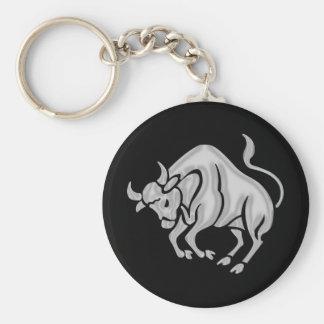 Porte-clés Porte - clé d'astrologie de zodiaque de Taureau