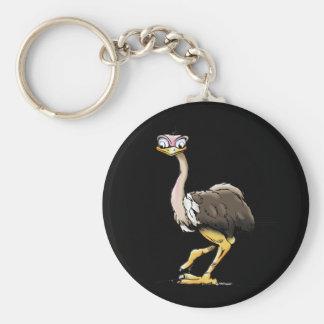 Porte-clés Porte - clé d'autruche