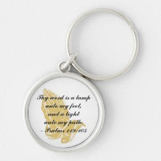 Porte-clés Porte - clé de 119:105 de psaumes