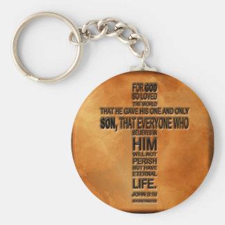 Porte-clés Porte - clé de 3h16 de John