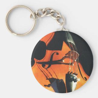 Porte-clés Porte - clé de apparence vague de violoncelle