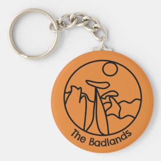 Porte-clés porte - clé de bad-lands