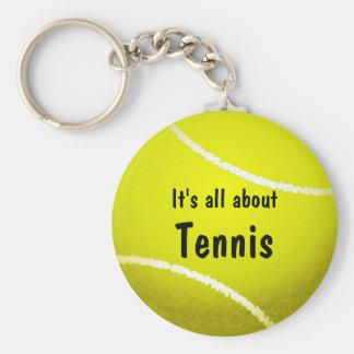 Porte-clés porte - clé de balle de tennis