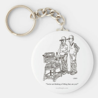 Porte-clés Porte - clé de bande dessinée d'hernie
