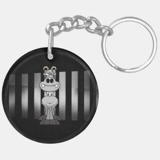 Porte-clés Porte - clé de barre de CHÈVRE (double face)