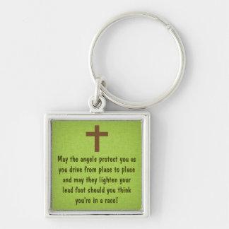 Porte-clés Porte - clé de bénédiction de la prière du