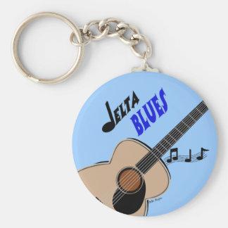 Porte-clés Porte - clé de bleus de delta