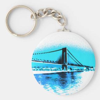 Porte-clés Porte - clé de bleus de pont