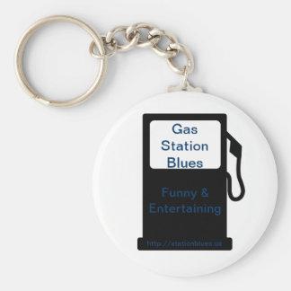 Porte-clés Porte - clé de bleus de station service