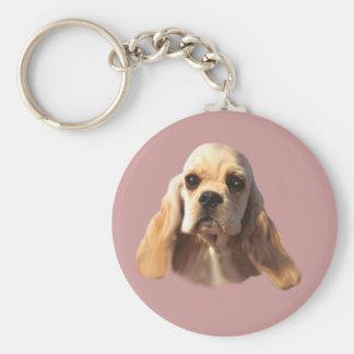 Porte-clés Porte - clé de Blondie de cocker