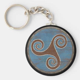 Porte-clés Porte - clé de bouclier de Viking - Triskele