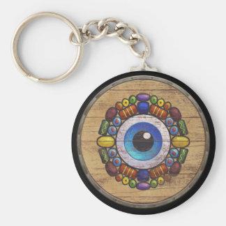 Porte-clés Porte - clé de bouclier de Viking - Völva