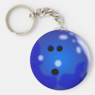 Porte-clés Porte - clé de boule de bowling