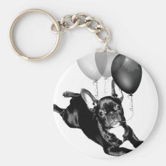 Porte-clés Porte - clé de bouledogue français d'anniversaire