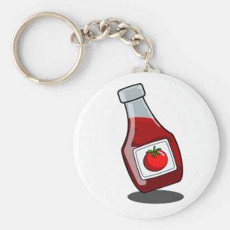 Porte-clés Porte - clé de bouteille de ketchup de bande