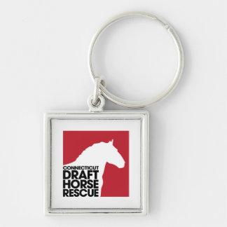 Porte-clés Porte - clé de bouton de délivrance de cheval de