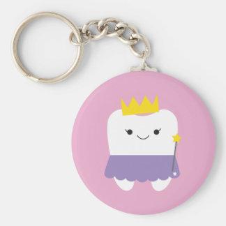 Porte-clés Porte - clé de bouton de fée de dent