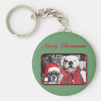 Porte-clés porte - clé de boxeurs de Noël