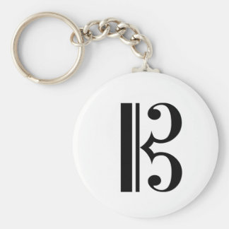 Porte-clés Porte - clé de C-Clef