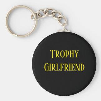 Porte-clés Porte - clé de cadeau de Noël d'amie de trophée