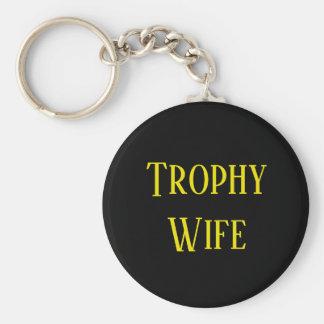 Porte-clés Porte - clé de cadeau de Noël d'épouse de trophée