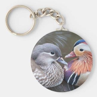 Porte-clés Porte - clé de canard de mandarine