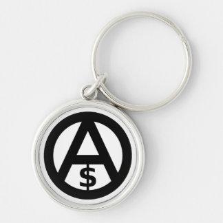 Porte-clés Porte - clé de capitalisme d'Anarcho