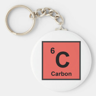 Porte-clés Porte - clé de carbone