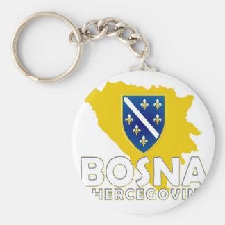 Porte-clés Porte - clé de carte de BiH
