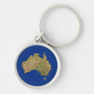 Porte-clés Porte - clé de carte de l'Australie