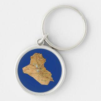 Porte-clés Porte - clé de carte de l'Irak