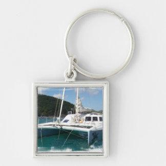 Porte-clés Porte - clé de catamaran