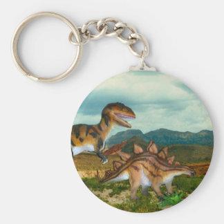 Porte-clés Porte - clé de Ceratosaurus et de Stegosaurus
