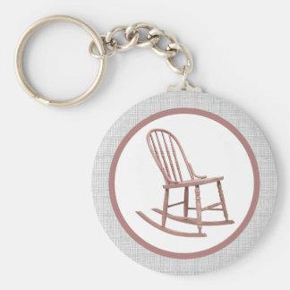 Porte-clés Porte - clé de chaise de basculage