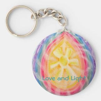Porte-clés Porte - clé de chakra d'amour et de lumière