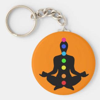 Porte-clés Porte - clé de Chakras de yoga