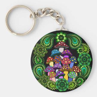 Porte-clés Porte - clé de champignons
