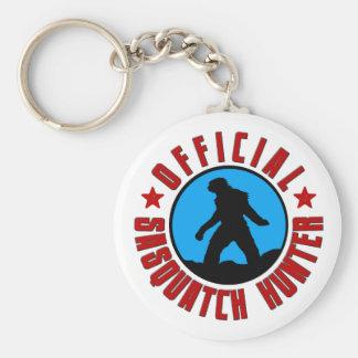 Porte-clés Porte - clé de chasseur de Sasquatch avec Bigfoot