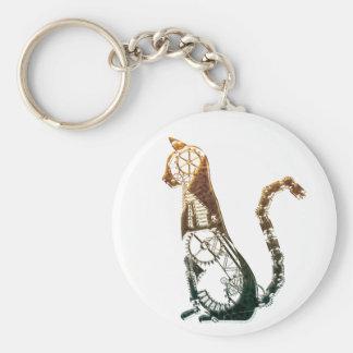 Porte-clés Porte - clé de chat de Steampunk