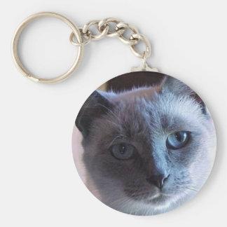 Porte-clés Porte - clé de chat siamois