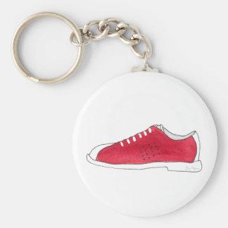 Porte-clés Porte - clé de chaussure de bowling