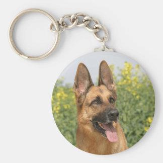 Porte-clés Porte - clé de chien de berger allemand