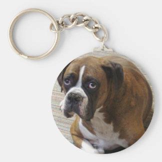 Porte-clés Porte - clé de chien de boxeur