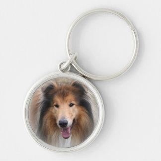 Porte-clés porte - clé de chien de colley, idée de cadeau