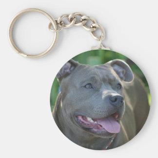 Porte-clés Porte - clé de chien de Pitbull