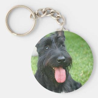 Porte-clés Porte - clé de chien de Terrier d'écossais