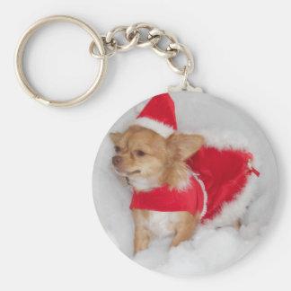 Porte-clés Porte - clé de chiwawa de Noël