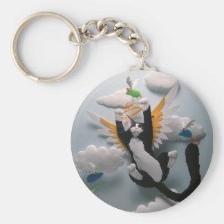 Porte-clés Porte - clé de ciel de chat