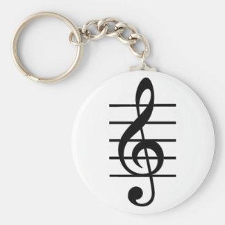 Porte-clés Porte - clé de clef triple