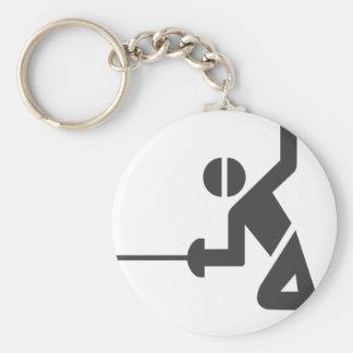 Porte-clés porte - clé de Clôturer-logo